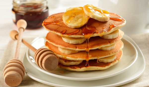 Banana pancakes recipe by manju malhi ndtv food for American cuisine definition