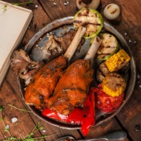 Recipe of  Barbecued Leg of Lamb