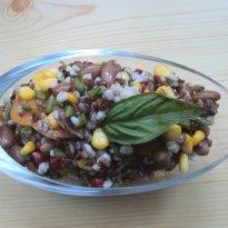 Barley and Red Rice Salad