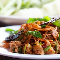 Recipe of Gka Prow Gai (Basil Chicken)