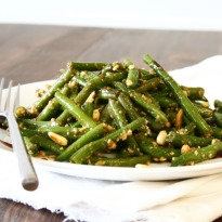 Green Bean Salad With Egg Topping Recipe Ndtv Food