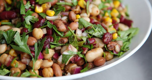 Recipe of Three Bean Chaat