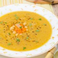 Recipe of Microwave Besan Kadhi Pindi Style