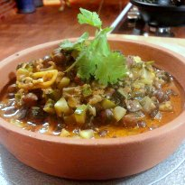 Recipe of Black Channa and Coconut Stew