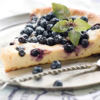 Recipe of Baked Blueberry Cheesecake