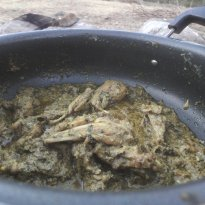 Camp Style Bori Chicken Recipe