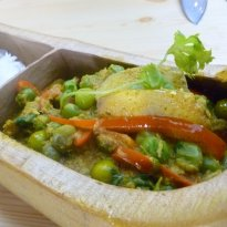 Recipe of Braised Plantain with Thai Spices