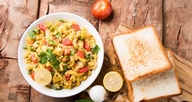Poha recipe how to make poha kanda poha bread poha forumfinder Choice Image