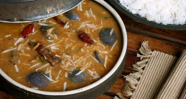 Recipe of Brinjal Sambar