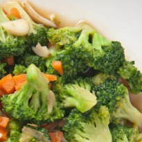 Broccoli with Onion and Garlic