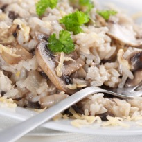 Recipe of Mushroom Brown Rice