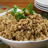 Recipe of Brown Rice Onion Pilaf