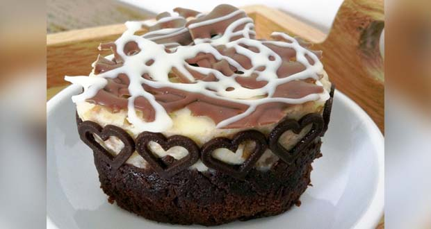 Recipe of Brownie Bottom Cheesecake