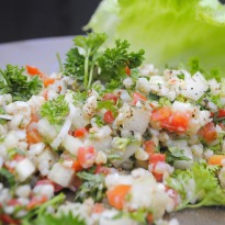 Buckwheat Tabbouleh Recipe by Seema Jindal Jijodia - NDTV Food