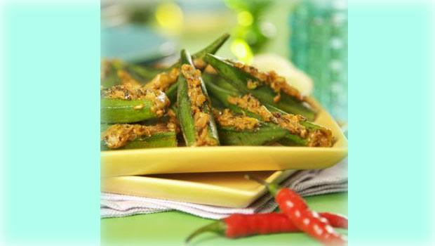 Recipe of Amchoori Dum Ki Bhindi