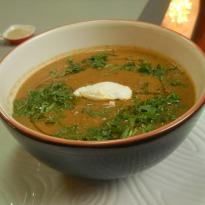 Charred Eggplant Soup