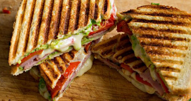 Recipe of Grilled Cheese Toast with Bacon, Avocado and Tomato