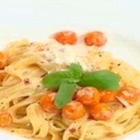 Fettuccine in Cherry Tomato Sauce