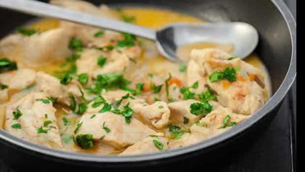 Spicy Ginger Chicken Curry
