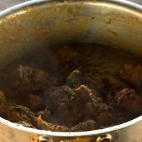 Chicken Curry with Coriander Rice
