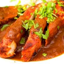 Chicken Korma with Beer