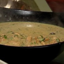 Chicken Korma with Coconut Milk