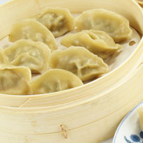 Chicken Momos (Steamed)