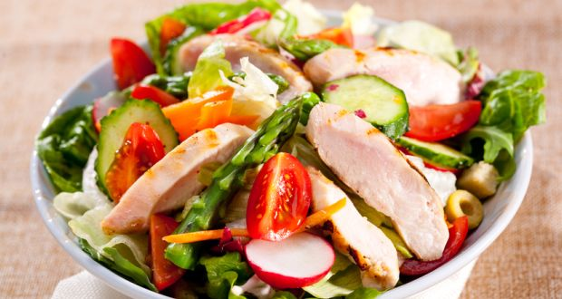 Recipe of Chicken Salad With Plums