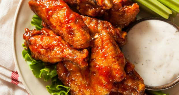 Sticky Tamarind Chicken Wings