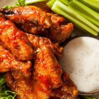 Sticky Tamarind Chicken Wings