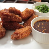Chicken Wings with Sweet Chilli Sauce