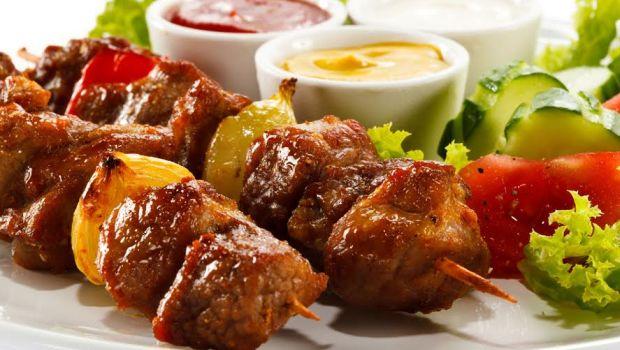 Chicken Shashlik Sizzler Recipe By Veenu Avasthi Ndtv Food