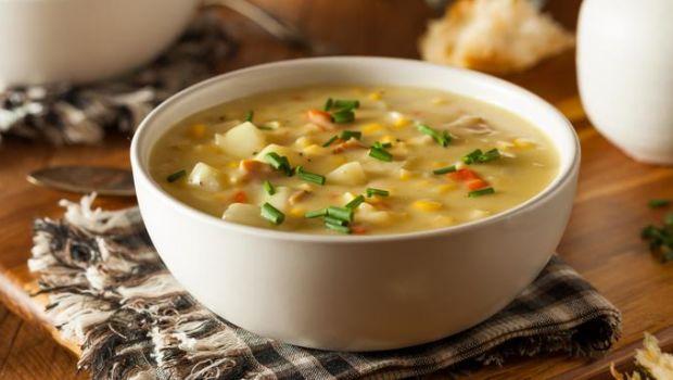 Chicken Sweet Corn Soup Recipe By Niru Gupta Ndtv Food