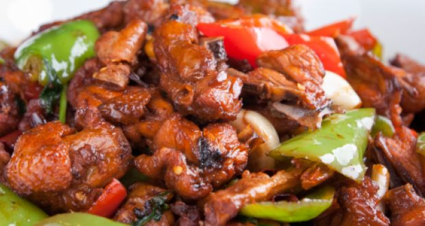 Szechwan Chilli Chicken Recipe by Executive Chef Kenny ...