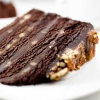 Recipe of Le Turinois (Chocolate Chestnut Cake)