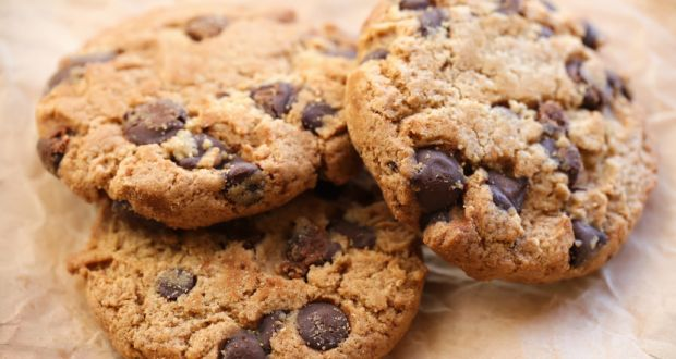 Chocolate Chip and Almond Cookies