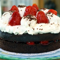 Recipe of Chocolate Strawberry Cake
