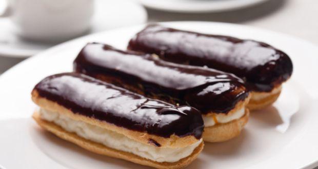 chocolate eclairs recipe by niru gupta   ndtv food