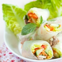 Recipe of Vietnamese Cold Spring Rolls