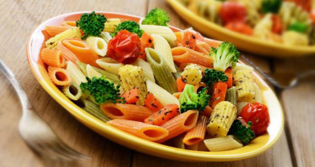 Broccoli babycorn and colourful pasta salad recipe by plavaneeta this incredibly easy pasta salad recipe will get you hooked tip in some fresh herbs like parsley and basil for some added flavour or a dollop of cream for forumfinder Images
