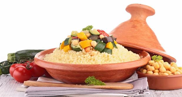 Couscous with California Prune & Vegetable Tagine