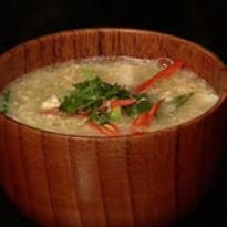 Recipe of Asparagus and Crab Meat soup