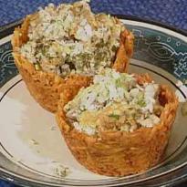 Crispy Omelette Baskets