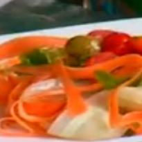 Recipe of Crunchy Ribbon Salad