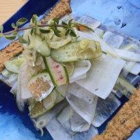 Cucumber, Radish And Ivy Gourd Carpaccio
