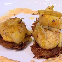 Curried Scallops