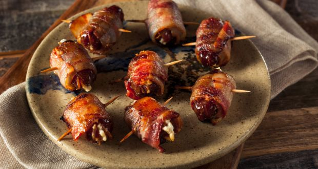 Recipe of Bacon Wrapped Stuffed Dates