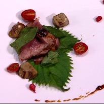 Duck Salad with Foie Gras