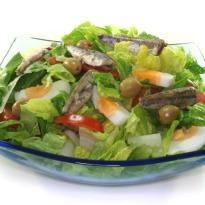 Sardine And Egg Salad