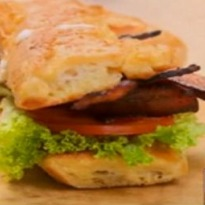 Recipe of Eggy Bread BLT